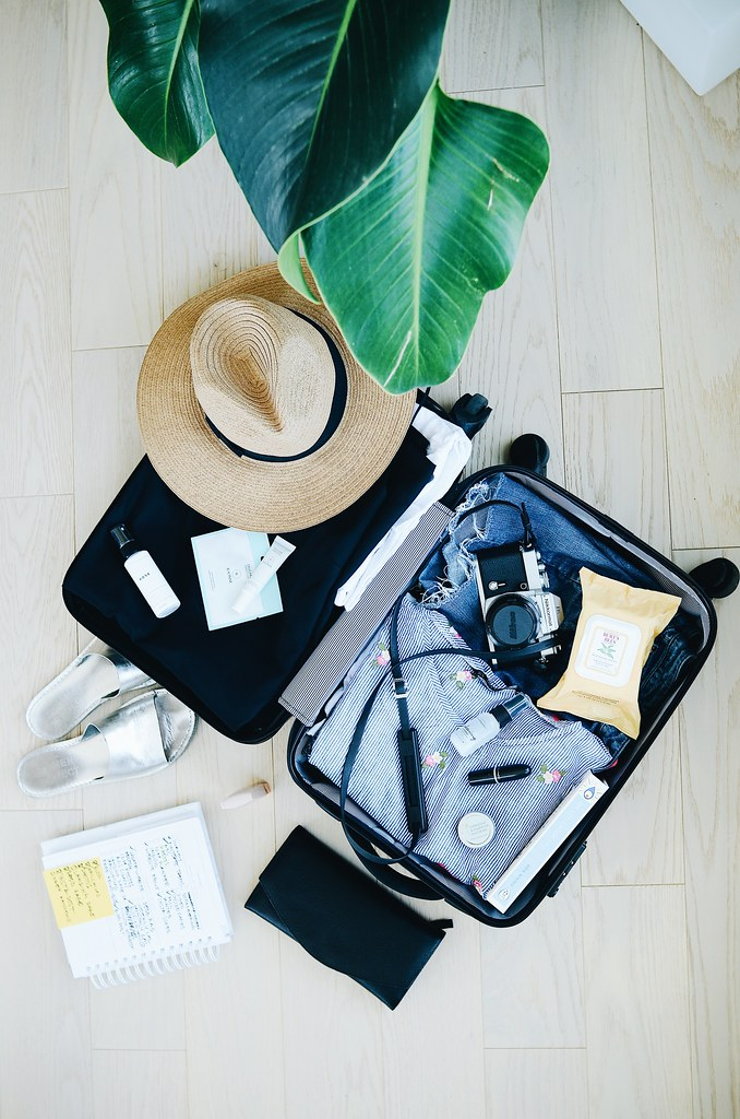 Travel Planning and Suitcase Packing