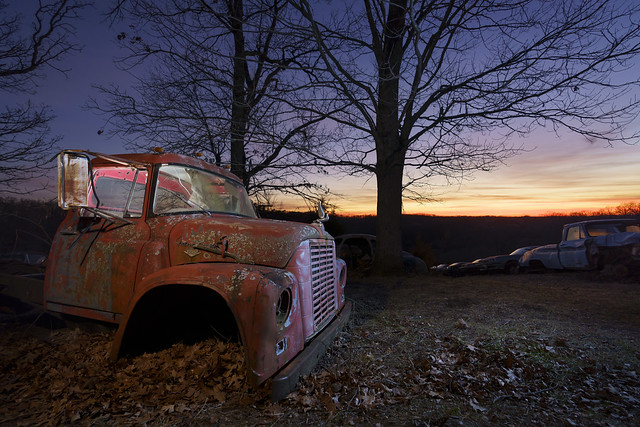 Junkyard Sunset II