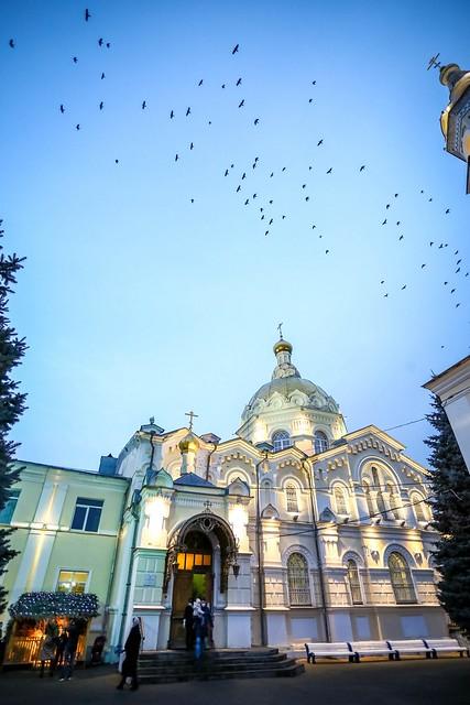 06 января 2021, Митрополит Кирилл совершил всенощное бдение в канун праздника Рождества Христова