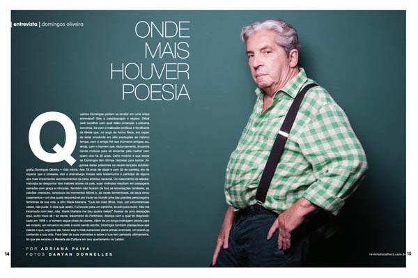 livro livros autobiografia do diretor Domingos de Oliveira Rede Globo TV televisão teledramaturgia teatro