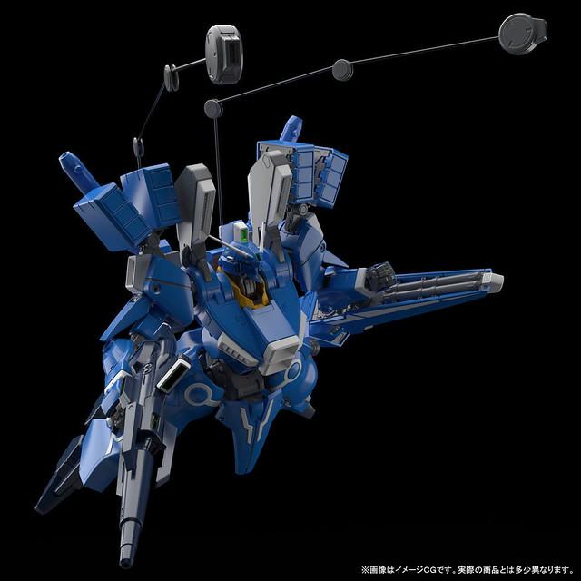 《鋼彈前哨戰》完全新規造型「MG 1/100 鋼彈Mk-V」於PB限定販售!