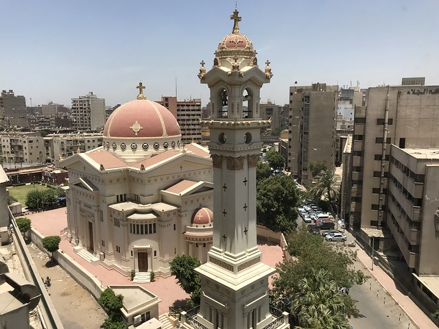 Saints Constantine and Helena Church in Downtown Cairo.