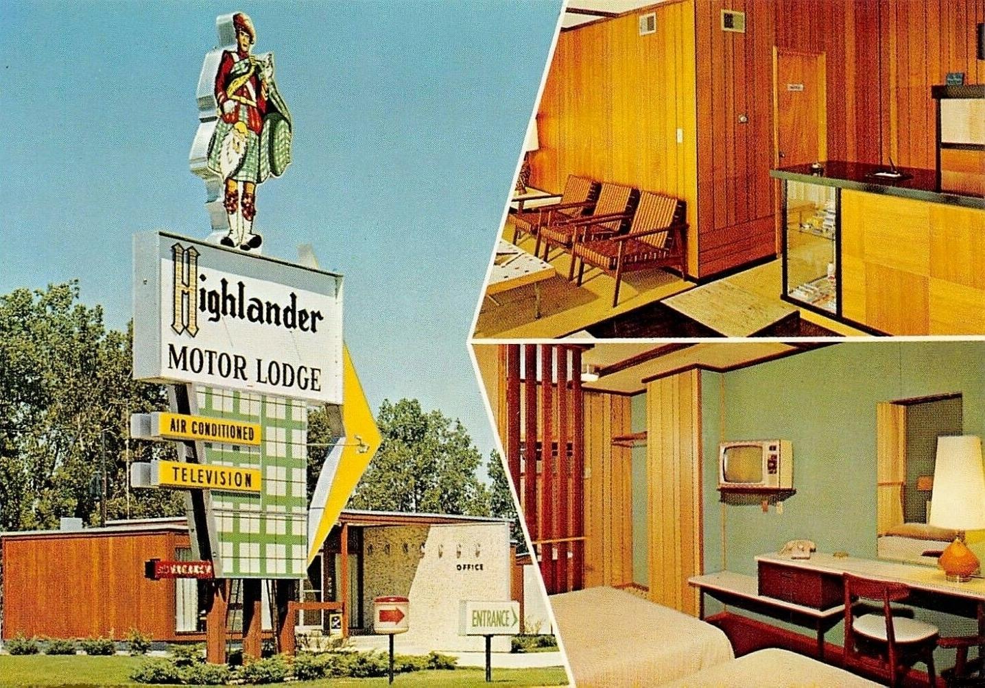 Highlander Motor Lodge - Elkhart, Indiana U.S.A. - 1950-57