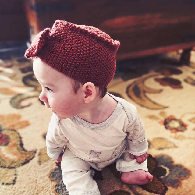 Vintage Knit Toque
