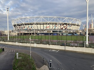 Olympic Stadium January 2021 | by diamond geezer