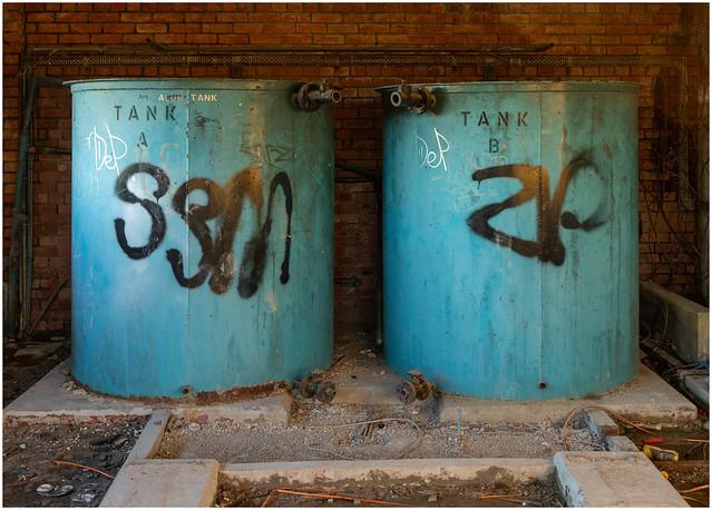 Tank A and Tank B, Dumbarton