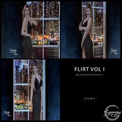 Flirt Vol 1 Pose Set @ Golden Days Event