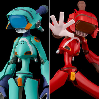 千值鍊「FLCL 健次機器人 藍/紅」可動完成品 以完全新規設計造型再登場!
