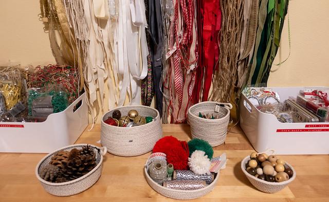 Embellishments & Repurposed Ribbon