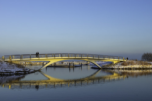 Golden Glistening Bridge