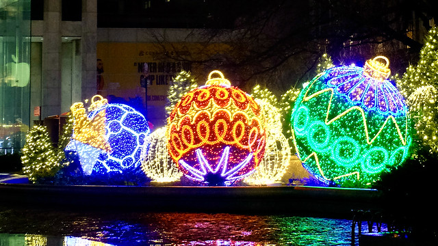 Grand Army Plaza Christmas Lights