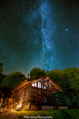 Loch Tay Highland Lodge and the Milky Way