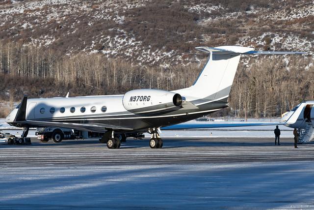 N970RG Gulfstream G550 5102 KASE