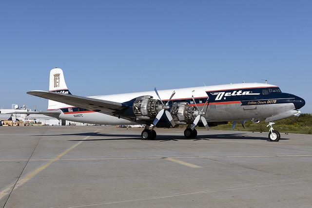 N4887C - Douglas DC-7B - Delta Air Lines - KATL - 01 Oct 2020