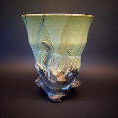 grand vase évasée  140€