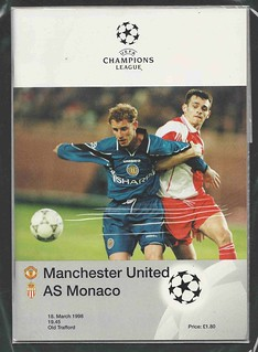 Manchester United Champions League Season 1997-8
