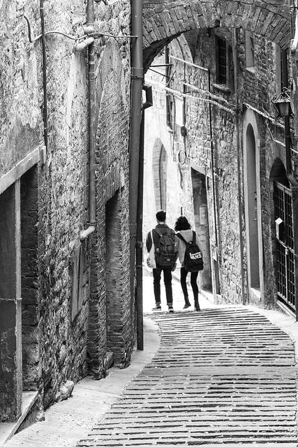 Perugia n. 6 - In discesa