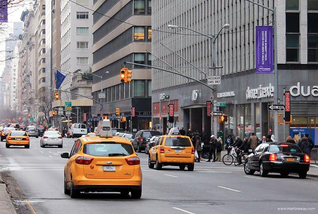Per le strade di New York