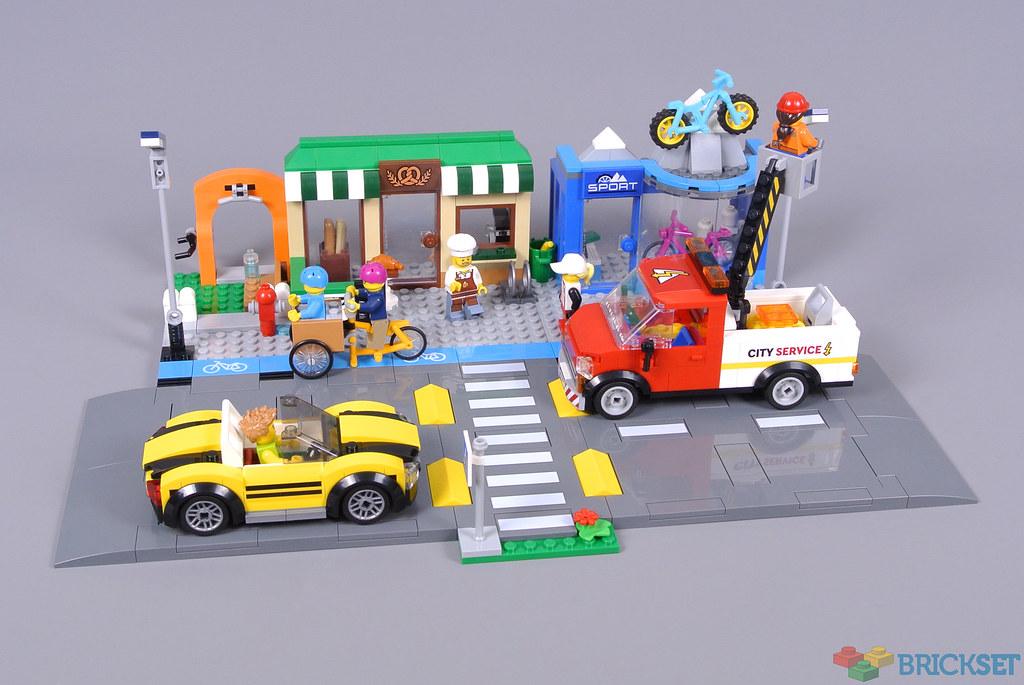 Barrier x 10 City Park Town Car Vehicle Fence Lego Black Fences