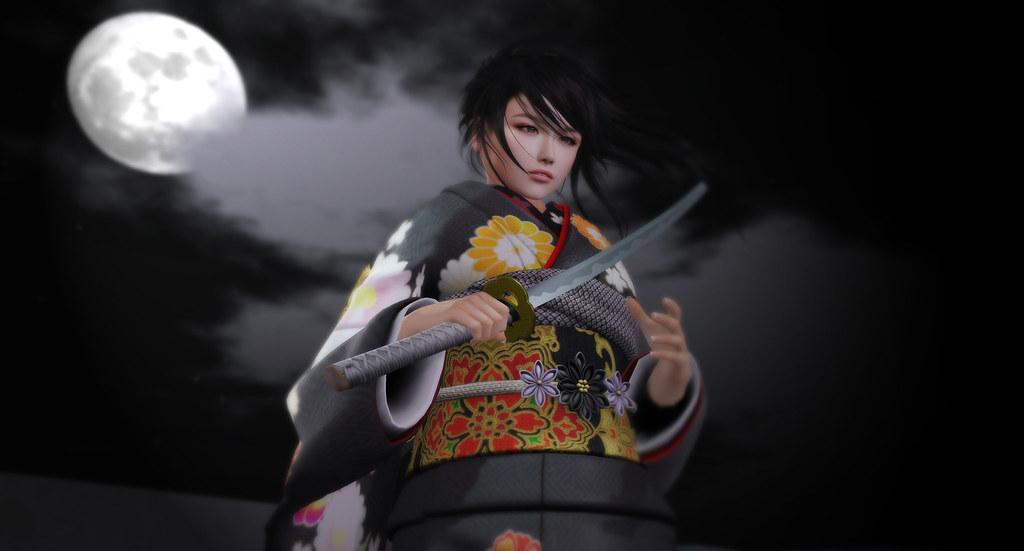 Realistic Japanese Sword