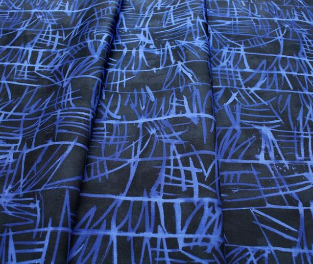 Windham Fabrics The Blue One 52043-1 Bamboo Hydrangea