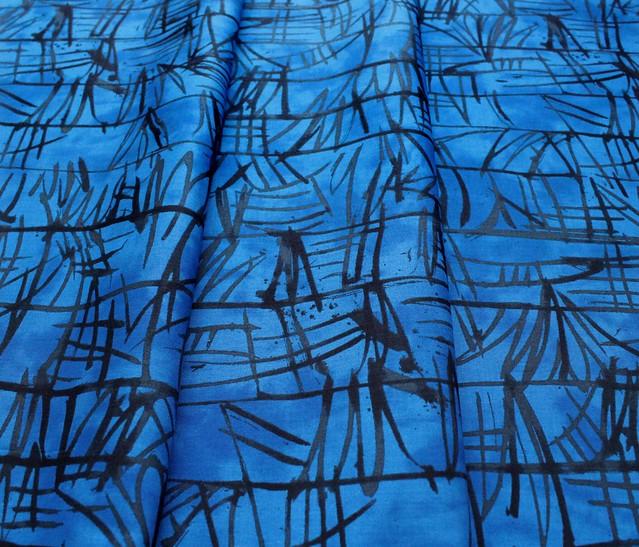 Windham Fabrics The Blue One 52043-3 Bamboo Island