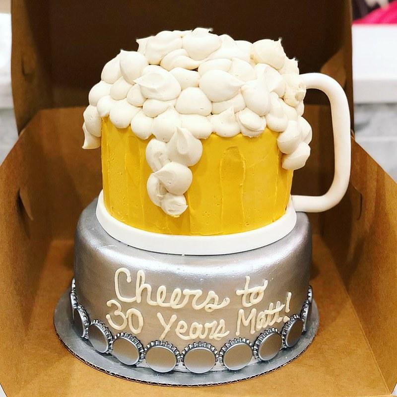 Cake by Pop Girl Bakery