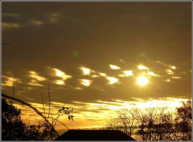 Unusual Cloud Formation ..