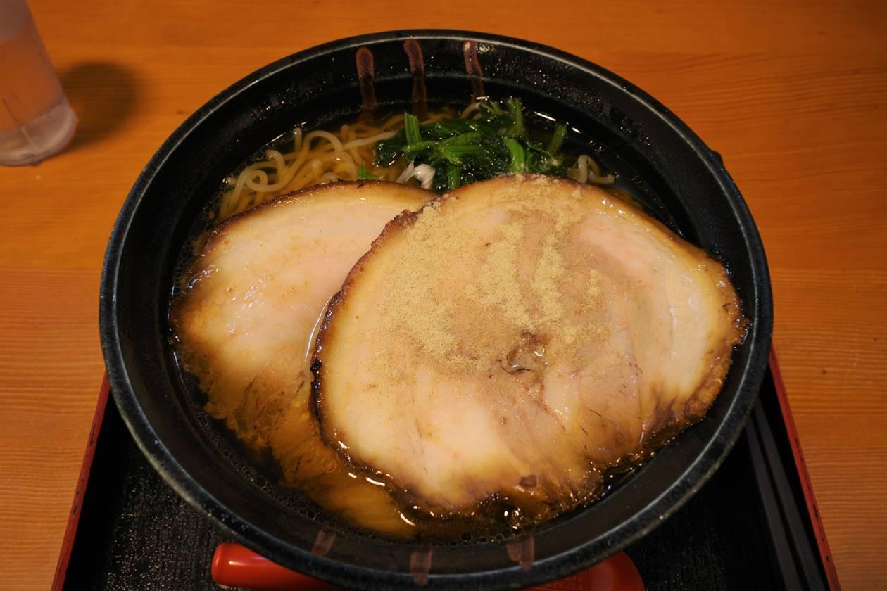 中央道辰野PA 龍王のチャーシュー麺
