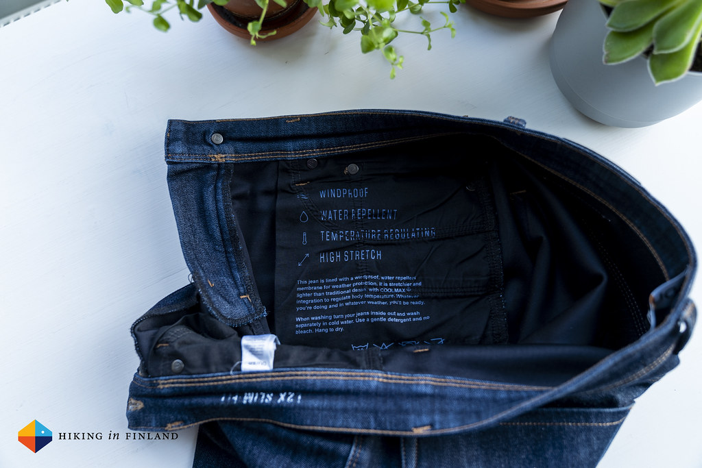 Instructions // DUER All-Weather Denim