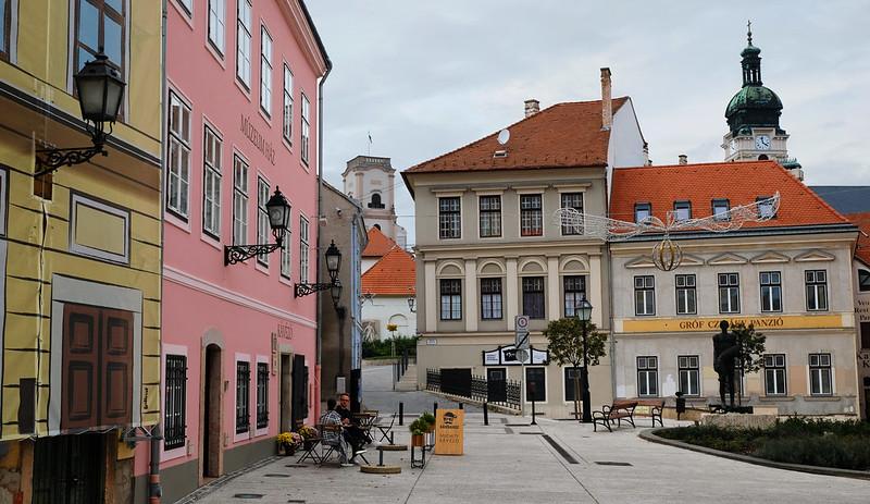 Bécsi kapu Square, Győr, Hungary