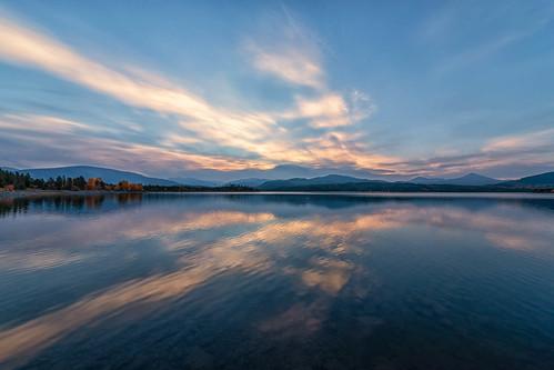 sunrise dawn daybreak clouds mountains lakedillon dillonreservoir colorado landscape summitcounty