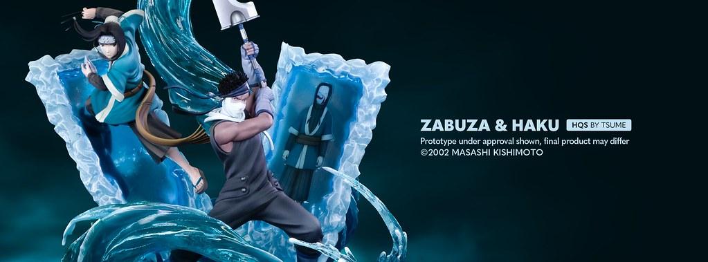 Tsume-Art HQS 系列《火影忍者》再不斬&白 1/8 比例場景雕像