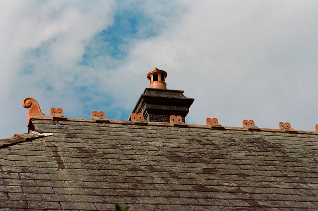 Roof (Late Victorian 1890-1910 roofline Marrickville)