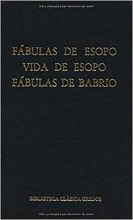 Esopo Y Babrio, Fábulas