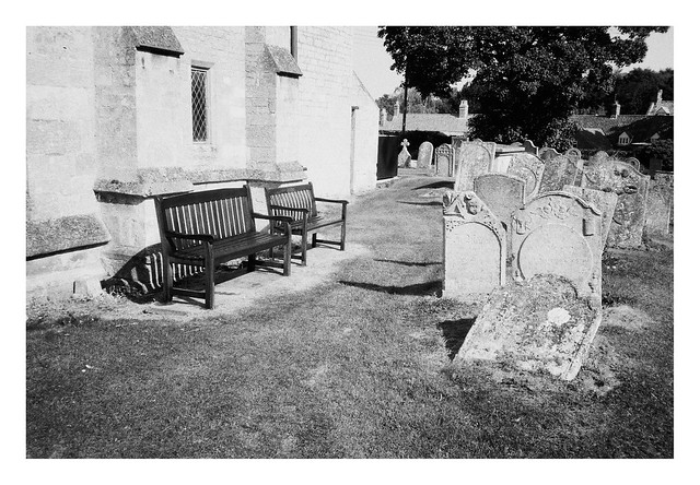 FILM - benches and stones