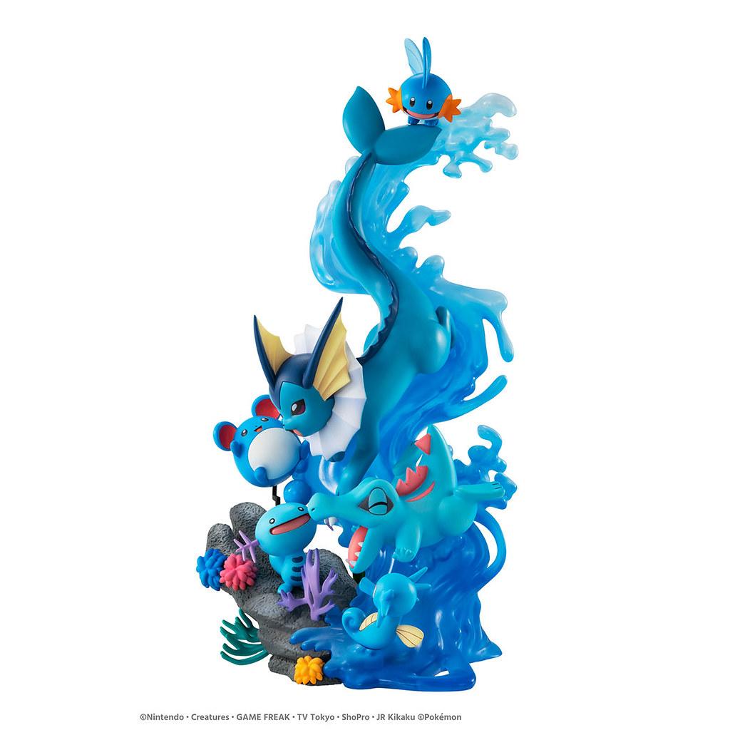 G.E.M.EX「水屬性寶可夢 DIVE TO BLUE」07月發售 美麗的藍色寶可夢大集合!