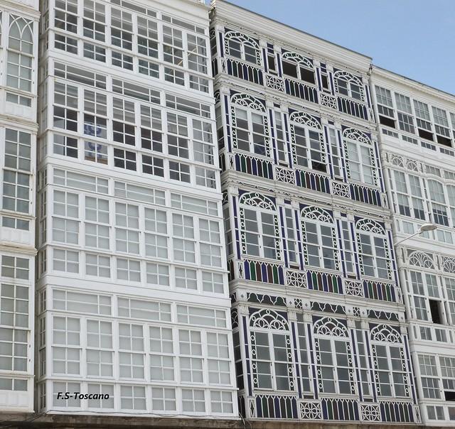 Arquitectura Modernista en A Coruña (12). Galerías de La Marina.