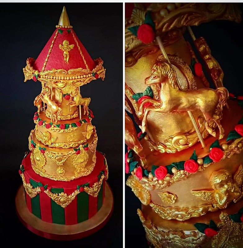 Christmas Cake by Katerina Tagouli