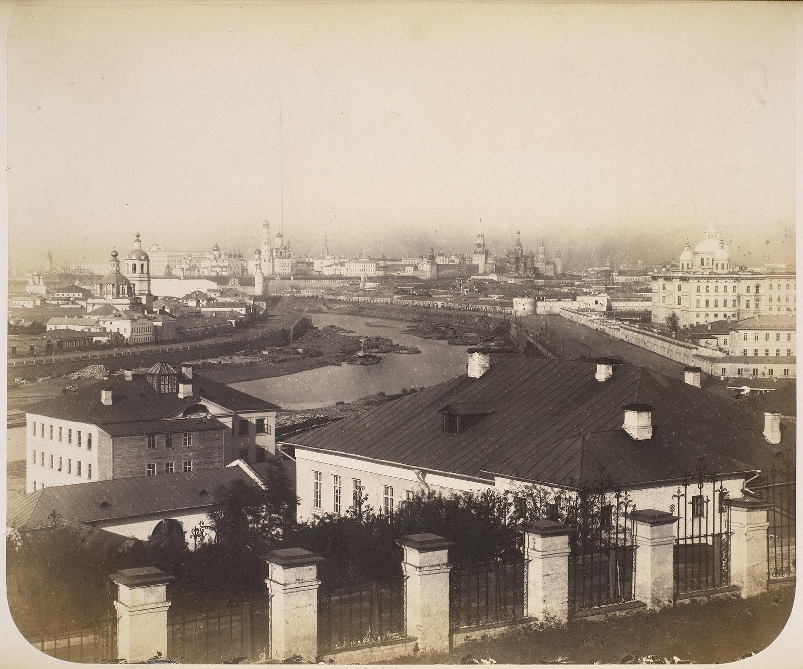 Панорама города. 1874