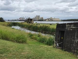 Fort Lytton on the Brisbane River