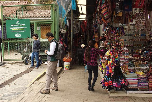 Aguas Calientes Prov. Urubamba Dip. Cusco Perù