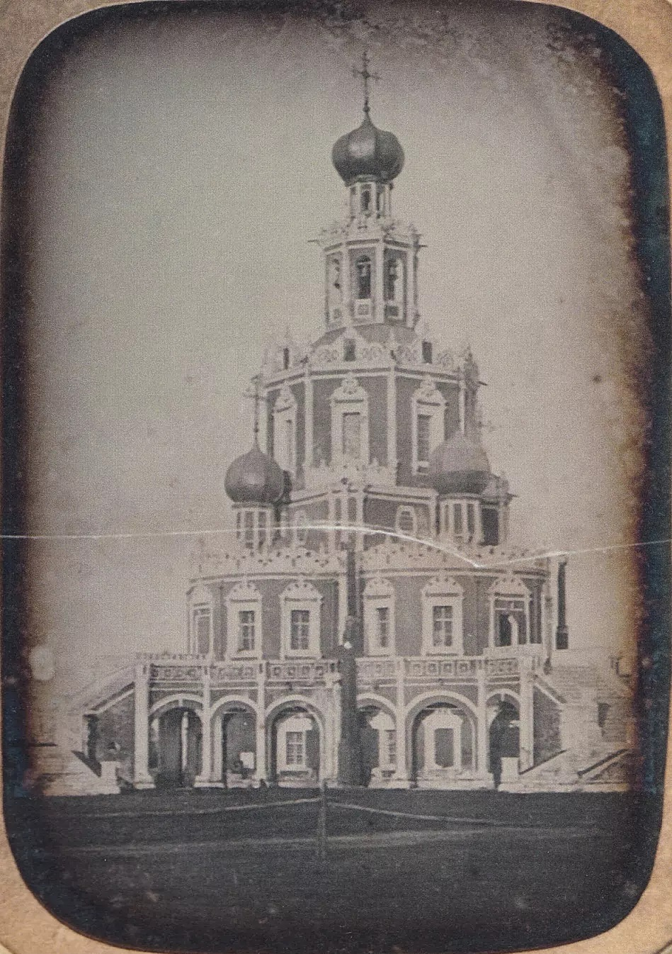 Вид Церкви Покрова Богоматери в Филях. 1855