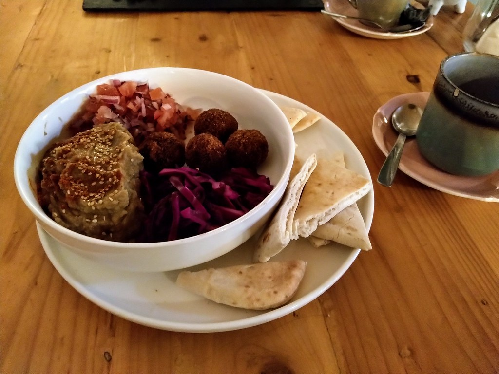 Kasballs at the Kasbar Vegan Restaurant, Gibraltar