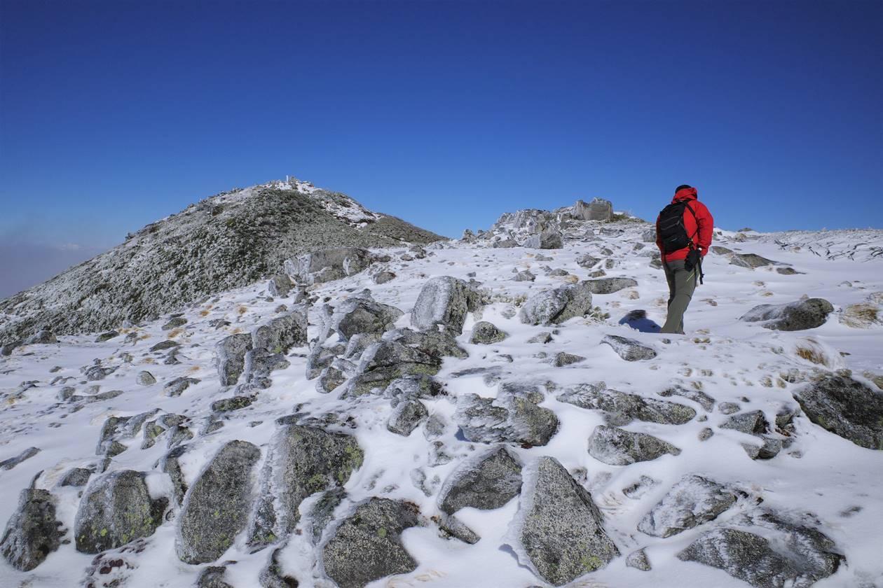 雪の将棊頭山 日帰り登山