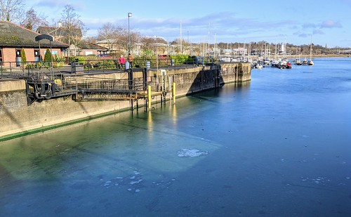 Frozen Preston Docks | by Tony Worrall