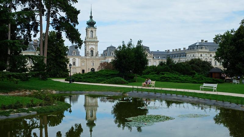 Garden of Festetics Palace, Keszthely, Hungary