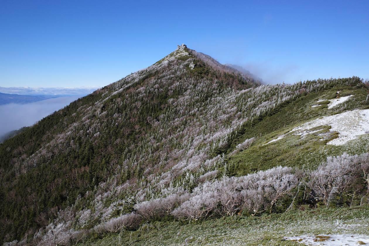 中央アルプス・行者岩
