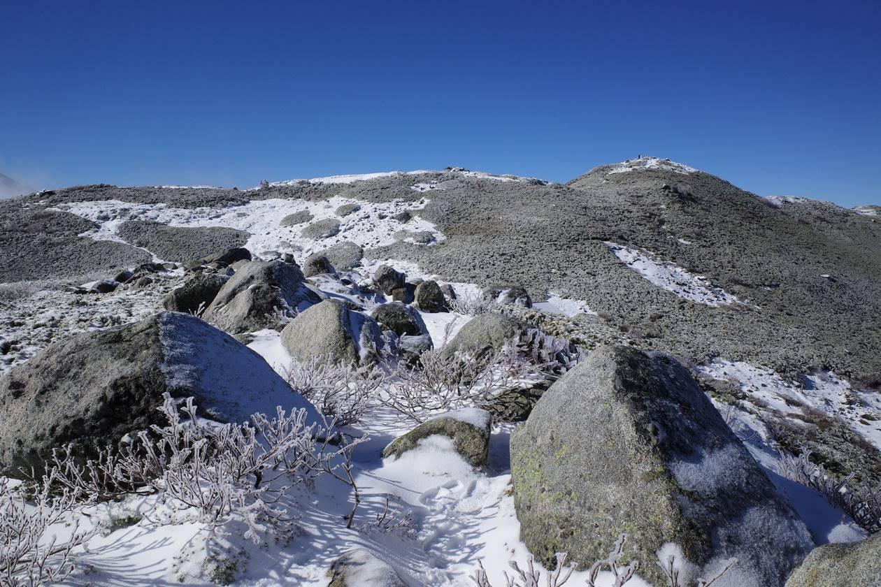中央アルプス・将棊頭山 日帰り雪山登山