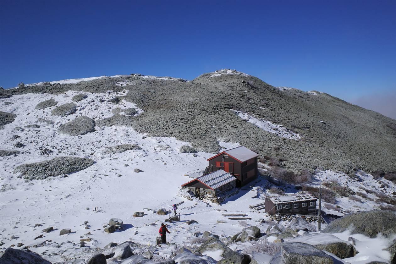 初冬の中央アルプス登山 将棊頭山と西駒山荘